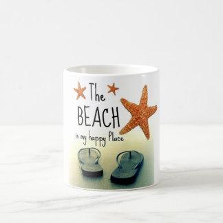 Het strand is mijn Gelukkige Mok van het