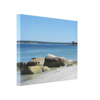 Het Strand Nova Scotia van Voerman van het canvas