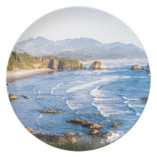 Het Strand Oregon van het kanon Melamine+bord