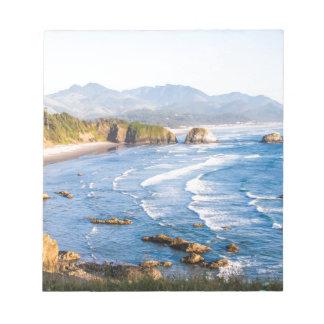 Het Strand Oregon van het kanon Notitieblok