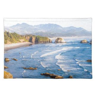 Het Strand Oregon van het kanon Placemat