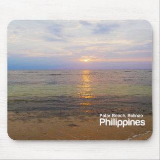 Het Strand Pangasinan Filippijnen Mousepad van Muismatten
