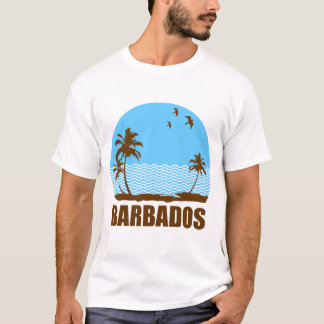 HET STRAND VAN BARBADOS T SHIRT