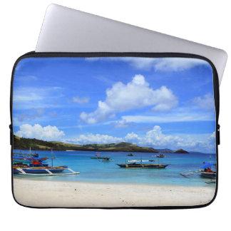 Het Strand van Bicol Computer Sleeve