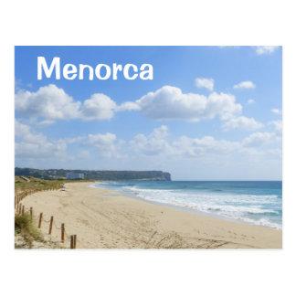 Het Strand van Bou van de Zoon van Menorca Briefkaart