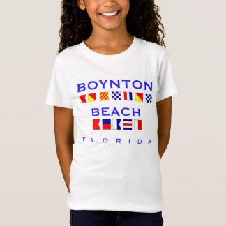 Het Strand van Boynton, FL - de ZeevaartSpelling T Shirt