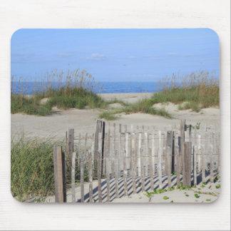 Het Strand van Caswell, Land NC en Zeegezicht Muismatten