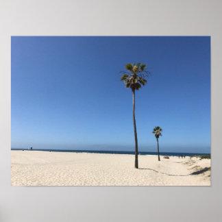 Het Strand van Coronado Poster