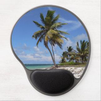 Het strand van de Dominicaanse Republiek Gel Muismat