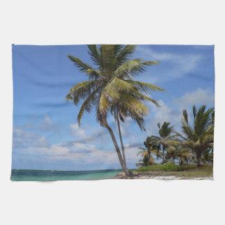 Het strand van de Dominicaanse Republiek Theedoek