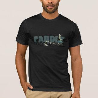 Het Strand van de Hond van de peddel T Shirt