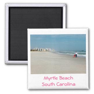 Het Strand van de mirte, Zuid-Carolina - magneet