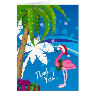 Het Strand van de Vakantie van de Flamingo van de Kaart