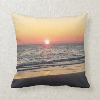 Het Strand van de zonsondergang werpt Hoofdkussen Sierkussen