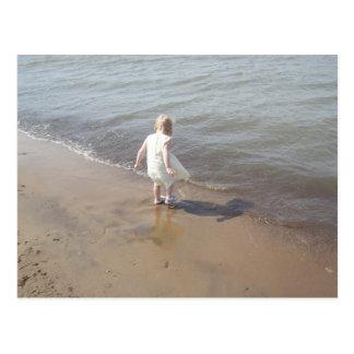 Het Strand van Erie van het meer Briefkaart