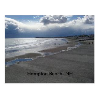 Het Strand van Hampton Briefkaart