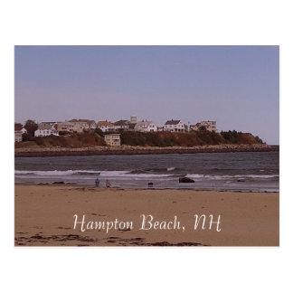 Het Strand van Hampton, NH Briefkaart