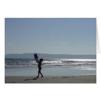 Het strand van het Eiland van Coronado Briefkaarten 0