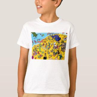 Het Strand van het monster T Shirt