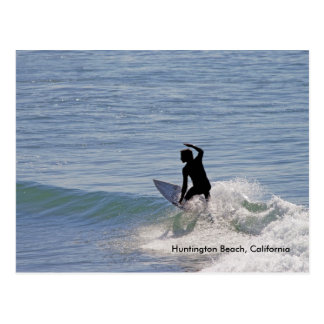 Het Strand van Huntington, Californië Briefkaart