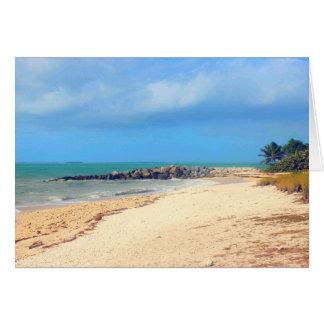 Het Strand van Key West, het Park van de Staat van Kaart