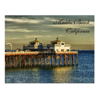 Het Strand van Malibu, Californië Briefkaart