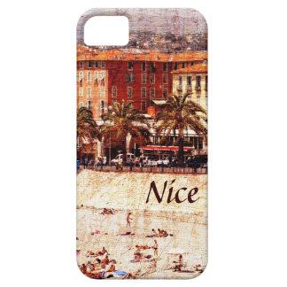 Het strand van Nice, iPhonehoesje van de Provence Barely There iPhone 5 Hoesje