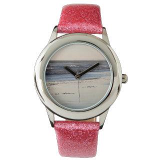 Het Strand van Ormond van de Zonsondergang van het Horloge