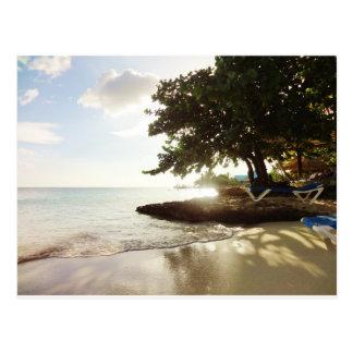 Het Strand van Punta Canta van de Dominicaanse Briefkaart