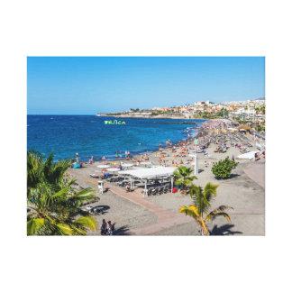 Het Strand van Torviscas, het canvasdruk van Canvas Afdrukken
