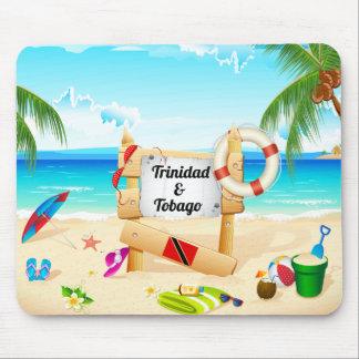 Het Strand van Trinidad en van Tobago Maracas Muismat