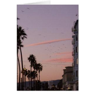 Het strand van Venetië Briefkaarten 0