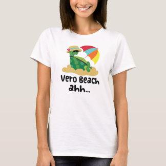 Het Strand van Vero (Schildpad op Strand) T Shirt