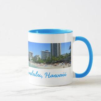 Het Strand van Waikiki Mok
