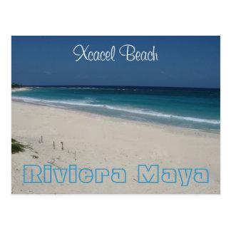 Het Strand van Xcacel Briefkaart