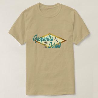 Het strandontwerp van Florida van het Eiland van T Shirt