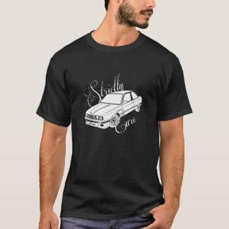Het strikt Euro t-shirt van BMW E30