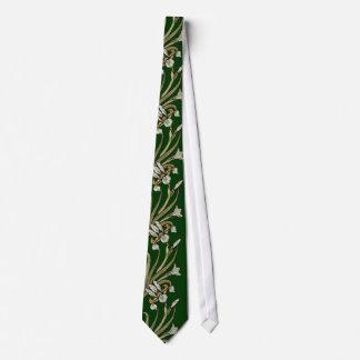 Het stropdas van de Iris van de Jugendstil -