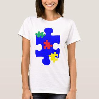 Het Stuk Awarness van het Raadsel van het autisme T Shirt