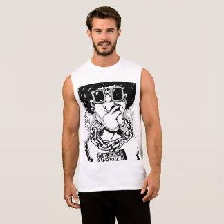Het super Sleeveless overhemd van de Kerel van T Shirt