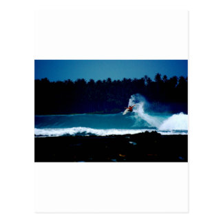 het surfen Indonesië het omgekeerde van de Briefkaart