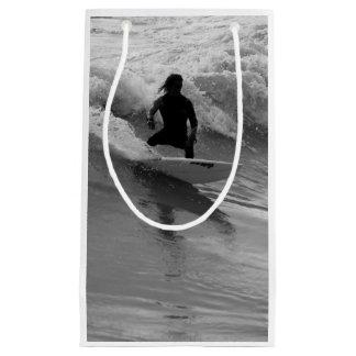 Het surfen van de Golven Grayscale Klein Cadeauzakje