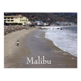 Het surfende Briefkaart van Malibu Californië