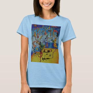 Het Surrealistische T-shirt van vrouwen