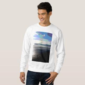 Het Sweatshirt Posterized Sunpyx van het Mannen