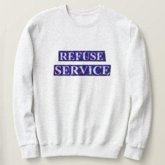 Het Sweatshirt van de Dienst van het afval