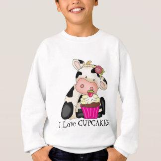 Het Sweatshirt van de Koe van Cupcake