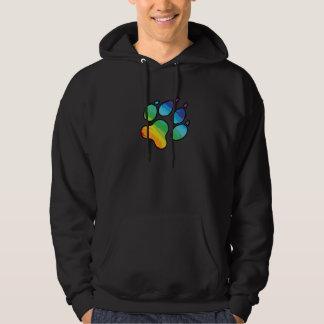 Het Sweatshirt van de Poot van de regenboog