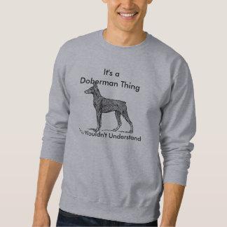 Het Sweatshirt van Doberman