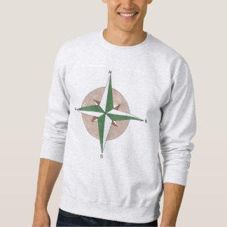 Het Sweatshirt van het Kompas van de Wandeling van